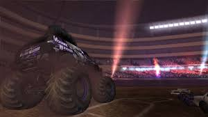 games of monster truck racing monster jam battlegrounds game ps3 playstation