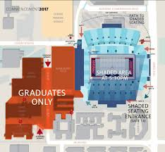 University Of Arizona Map Planning For Inclement Weather Commencement