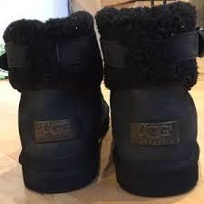 jocelin ugg boots sale 67 ugg shoes ugg jocelin buckle boot black from