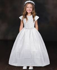 dress for communion white classic communion gown in traditional style