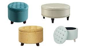 top 10 best round storage ottomans compare buy u0026 save heavy com