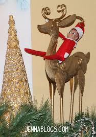 jenna blogs 35 elf on the shelf ideas for toddlers and a linkup