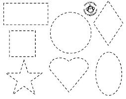 Basic Shapes Coloring Pages Basic Shapes Christmas Coloring Pages Coloring Pages Shapes