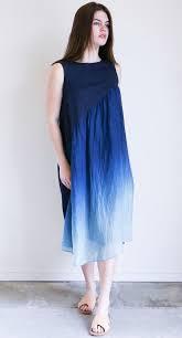 ombre dress pas de calais ombre dress in blue cloud