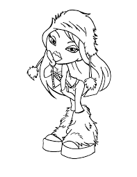 paper doll colouring pages alltoys for
