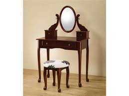 Vanity Mirror And Bench Set Bedrooms Vanity Table Without Mirror Makeup Table Small Baths