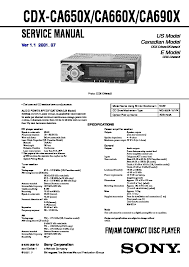 sony cdx ca650x wiring sony cd 3300 u2022 wiring diagram database