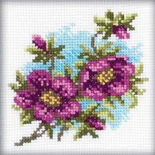 rto cross stitch kit hellebore stoney creek store