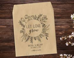 seed favors best seed packets wedding favors sheriffjimonline