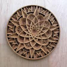 geometric wood sculpture geometric laser cut wood relief sculptures by gabriel schama