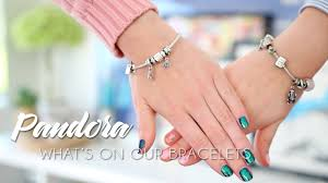 pandora bracelet with charms images What 39 s on our pandora bracelets charms stories jpg