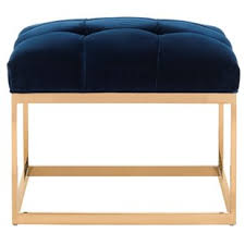 isabelle square tufted ottoman wayfair