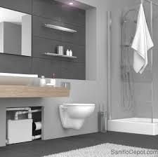saniflo sanipack macerating upflush toilet upflush toilet