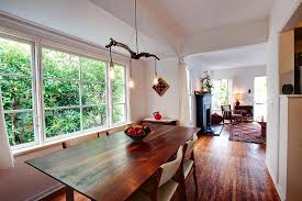 edison light fixtures dining room beach with exposed beams