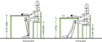 Dining Room Table Height Inspiring Standard Height For A Dining - Dining room chair height