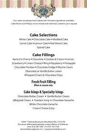 wedding cake ingredients list cakes