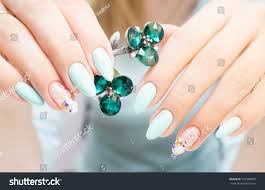 natural nails gel polish perfect clean stock photo 532908025