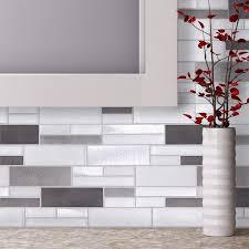 modern mosaic tile backsplash home interior design