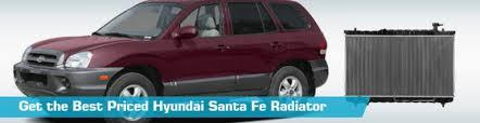 2003 hyundai santa fe radiator hyundai santa fe radiator auto radiators spectra premium