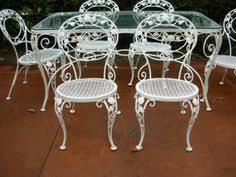 Vintage Woodard Patio Furniture by Rare Salterini Double Chaise See More Salterini On Joanbogart Com