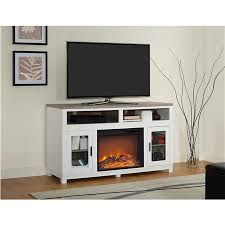 White Fireplace Entertainment Center by Ameriwood Furniture Carver Electric Fireplace Tv Stand For Tvs