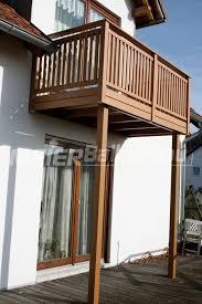 balkone holz konstruktionen