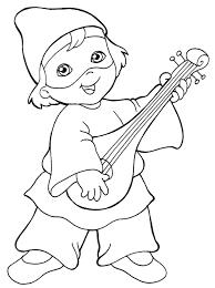 dessin arlequin maternelle a colorier art pinterest mardi