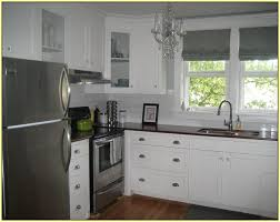 glass tile kitchen backsplash white cabinets home design ideas