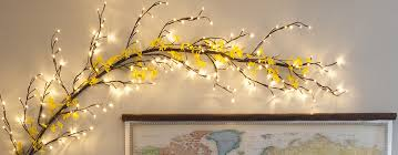 lighted tree branches branches