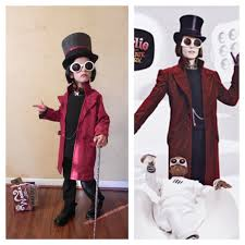diy wizard costume homemade charlie and the chocolate factory halloween costume