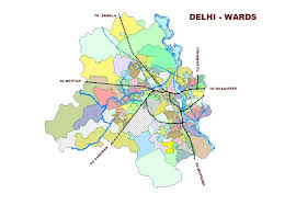 New Delhi India Map by Census Of India Ward Map Of Delhi