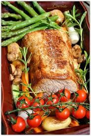 cuisine du cochon carré de cochon au vin jaune et légumes de saison la cuisine de doria