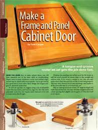 Building A Cabinet Door by Building Cabinet Doors U2022 Woodarchivist