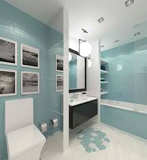 Modern Bathrooms Ideas Colors 65 Best Turquoise Modern Bathrooms Images On Pinterest Bathroom