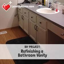 Resurface Vanity Top Refinishing A Wood Bathroom Vanity Part 1 Preparation U0026 Stripping