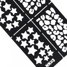 new nail art image stamping stickers stencil template diy template