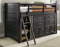 Bunk Beds With Dresser Granite Falls Loft Bed Bookcase And Dresser Sold Separately