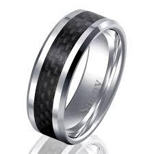 mens blue wedding bands wedding mens wedding rings tungsten image ideas coolman black