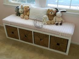 ikea kallax custom cushion for nursery playroom