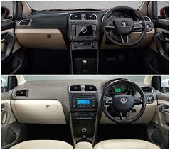 volkswagen ameo vs vento new skoda rapid 2016 facelift u2013 new vs old find new u0026 upcoming