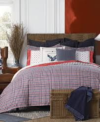 tommy hilfiger timeless plaid bedding collection bedding