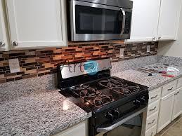 Self Adhesive Kitchen Backsplash by Self Adhesive Backsplash Tiles For Kitchen Peel And Stick Tile 5 8