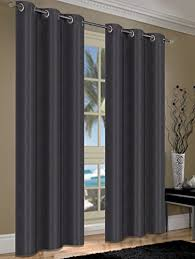 Linen Curtains With Grommets S L Home Fashions Cameron Linen Blackout Window Panel Pairs With