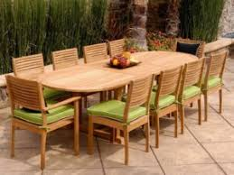 Teak Outdoor Dining Table And Chairs Great Teak Outdoor Dining Table Duzidesign