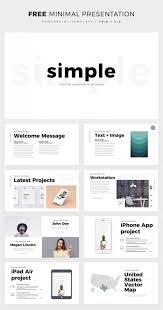 Simple And Clean Powerpoint Template Free Ppt Theme Design Ppt Free
