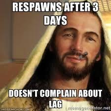 Meme Gamer - gamer jesus