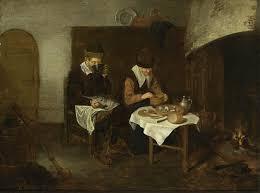 file quiringh van brekelenkam a couple having a meal before a