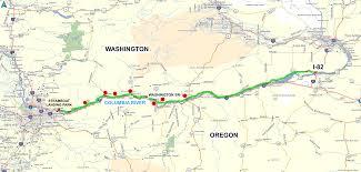 Washing State Map by Roadrunner U0027s Bucket List Roads Washington State Route 14 U201cgorge