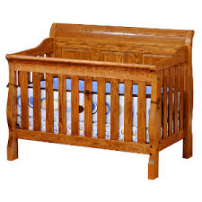 Convertible Sleigh Crib Sleigh Panel 4 In 1 Convertible Baby Crib Made In Usa Baby Eco