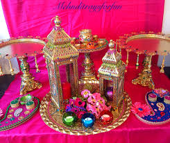 mehndi decor diy candles diy wedding decor henna indian